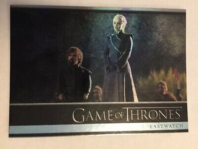 Game Of Thrones Season 7 Gold Parallel Base Card #14 Eastwatch