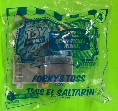 2019 McDonalds Toy Story Happy Meal Toy Forkys Toss No. 4