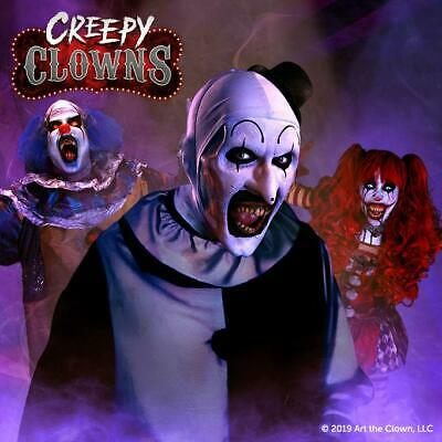 Creepy Clowns AtmosFx Projection Digital Download Halloween
