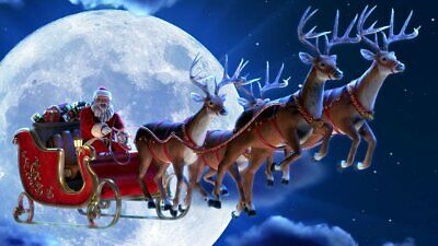 Santa's Sleigh Ride AtmosFx Projection Digital Download Halloween