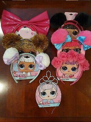 Lol Surprise Doll Girls Headband Lot Of 7