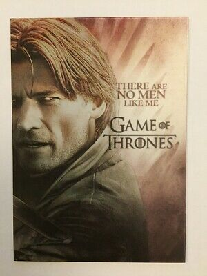 Game Of Thrones Season 7 Winter Is Here Chase Card W6 Jaime Lannister