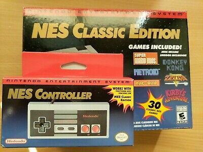 Nintendo NES Classic Edition + Official Extra Controller NEW and GENUINE