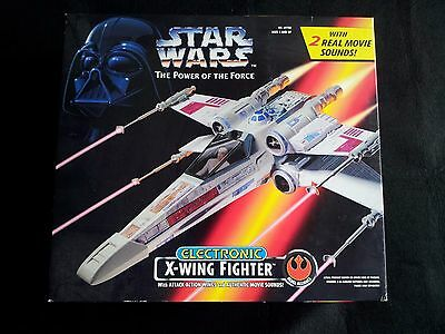 Potf Star Wars Electronic X Wing Electronic Sounds Precintado Perfecto Estado