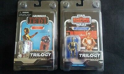 Star Wars Otc Collection R2D2 Y C3Po  Nuevas Precintadas Perfecto Estado
