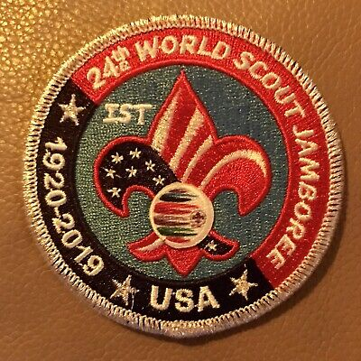 2019 World Boy Scout Jamboree 24th IST STAFF Patch Badge USA CONTINGENT WSJ BSA