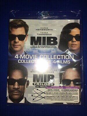 MIB: Men In Black (4 Movie Collection Set ) blu ray International