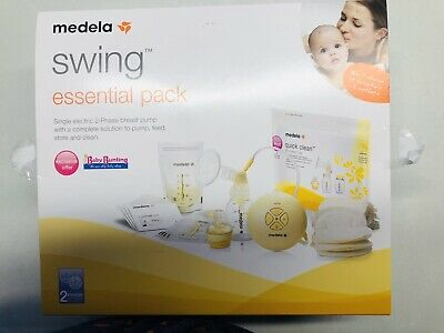 Medela Swing Breast Pump and Accessories (USED)