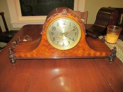 1930 Telechron Motored Revere Westminster Chime Clock R6026 Louis XVI Working