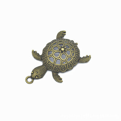 2pcs Turtle Charms Pendants Antique Bronze Turtles Tone 55*38mm,Jewelry Making