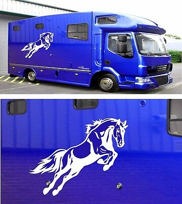 HORSE BOX GRAPHICS STICKERS DECALS SELF ADHESIVE VINYL DECALS HOR2
