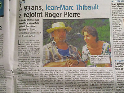 Journal Du Deces De : Jean-Marc Thibault + Denis Johnson - 29/05/2017