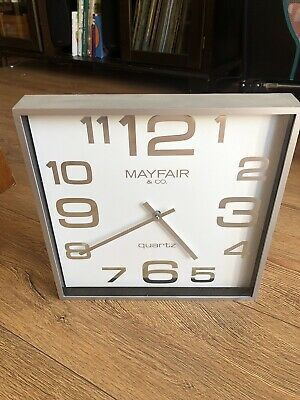 Mayfair & Co. Quartz Wall Clock Big Number Classic Wall Clock