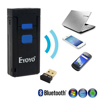 Eyoyo MJ-2877 USB Wireless 2D Barcode Scanner Bluetooth Support SPP and HID mode