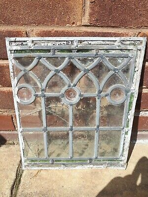 Leaded antique stained glass, Vintage, Glass, Leadwork, Restoration