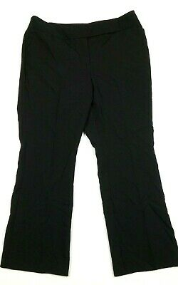 NEW YORK & CO. Women's Pants Sz 14 Petite Black City Stretch