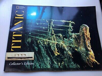 TITANIC Collector's Edition Photo BOOK National Geographic Society shipping