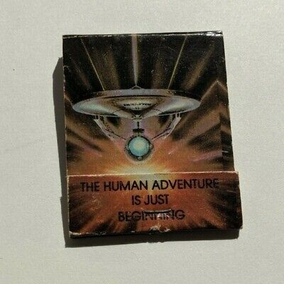 Star Trek the Motion Picture 1979 Vintage Matchbook USS Enterprise XCV 330