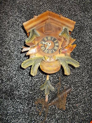 Vintage Wooden Cuckoo Clock made in Germany