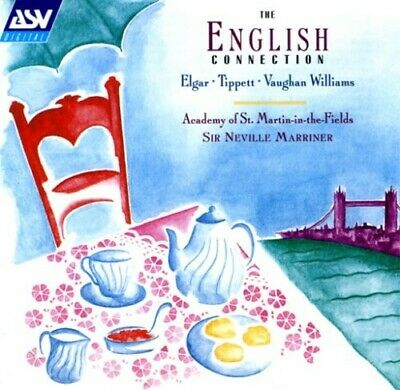 The English Connection  Cd New Elgar/Tippett/Vaughan Williams
