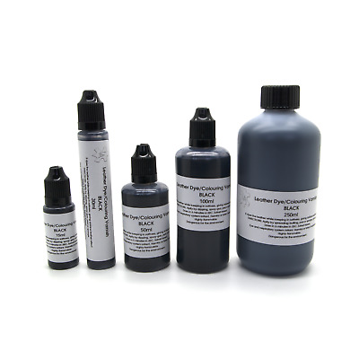 Black Leather Dye Colour Paint Refreshing Manufacturing Recolouring Design Stain