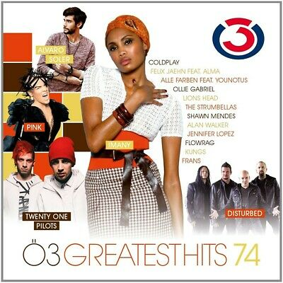 Ö3 Greatest Hits Vol.74  Coldplay/P!Nk!Twnety One Pilots/Imany/+  Cd New