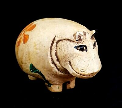 Giant Hippo Egyptian Antique Stone hippopotamus Amulet Nile Taweret Figurine