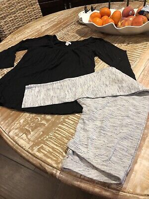 Girls Size 14/16 XL - Cat & Jack - Leggings / Old Navy 14/16 - Black Top!