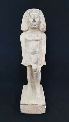 Amazing Ancient Woman Statuette Hieroglyphic Figurine Egyptian Antiquities Bead