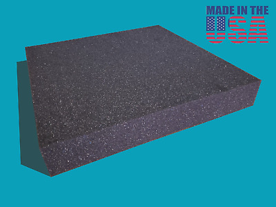 """2/""""x24/""""x82/"""" Firm Foam Rubber Replacement Sheet-Great for boat seats and benches!"""