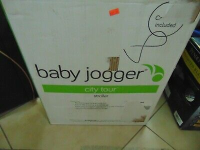 Baby Jogger City Tour Compact Folding Travel Baby Stroller Onyx