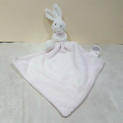 White Bunny Rabbit With Pink Blankie Comforter By The Little White Company