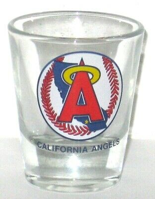 California Angels Shot Glass With Logo.