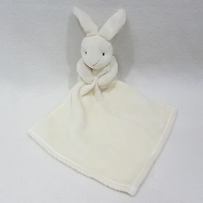 White Bunny Rabbit Blankie By Doudou Et Compagnie NEW sale