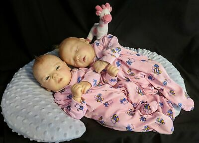Reborn Twins! Darren Realborn Dora and Destiny by Dale's Little Darlings