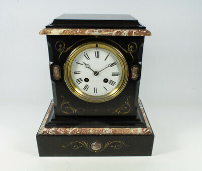 French Victorian Japy Freres 8 Day striking Clock Excellent condition (Restored)