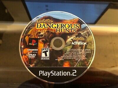 Cabela's Dangerous Hunts (PS2 Playstation 2) WORKS / NO TRACKING / DISC ONLY