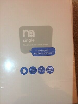 Mothercare Single Mattress Protector 90cmx190cm