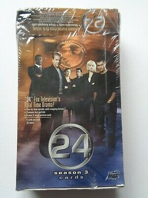 24 Twenty Four Series 3  FACTORY SEALED BOOSTER BOX  / Booster Box
