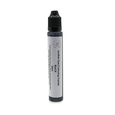 Black Leather Colour Dye Varnish Repair Refreshing Manufacturing Re-colouring 30