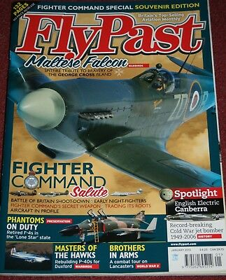 Flypast Magazine 2013 January Royal Air Force Fighter Command,Canberra,Lancaster