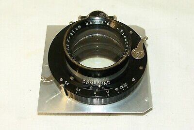 Schneider-Kreuznach XENAR 4,5/210mm.plate camera Lens,Germany,old rare