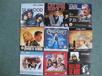 Mixed bundle x 9 various adult promo DVDs