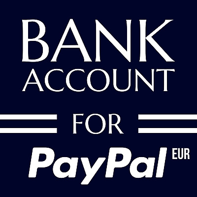 Bank Account And Debit Card For PayPal Account Europe EUR