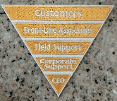 Home Depot Apron Patch: LIMITED EDITION! Inverted Pyramid (pin, swag, badge)