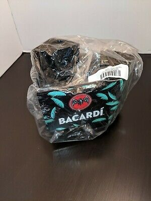 New Bacardi Rum Bar Caddy - Napkin, Straw, Swizzel Stick Holder  Plastic