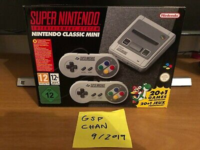 Super Nintendo Mini SNES Classic Edition EU Version