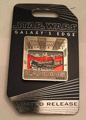 Disney Star Wars Galaxys Edge Red Millennium Falcon Pin Limited Release