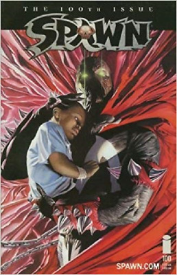 (2000) Todd McFarlane Spawn #100 Alex Ross Variant Cover!
