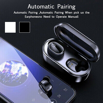Bluetooth 5.0 True Wireless Earbuds Sports Headsets Noise Cancelling Headphones
